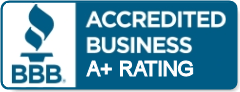 BBB - Accredited Business A+ Rating