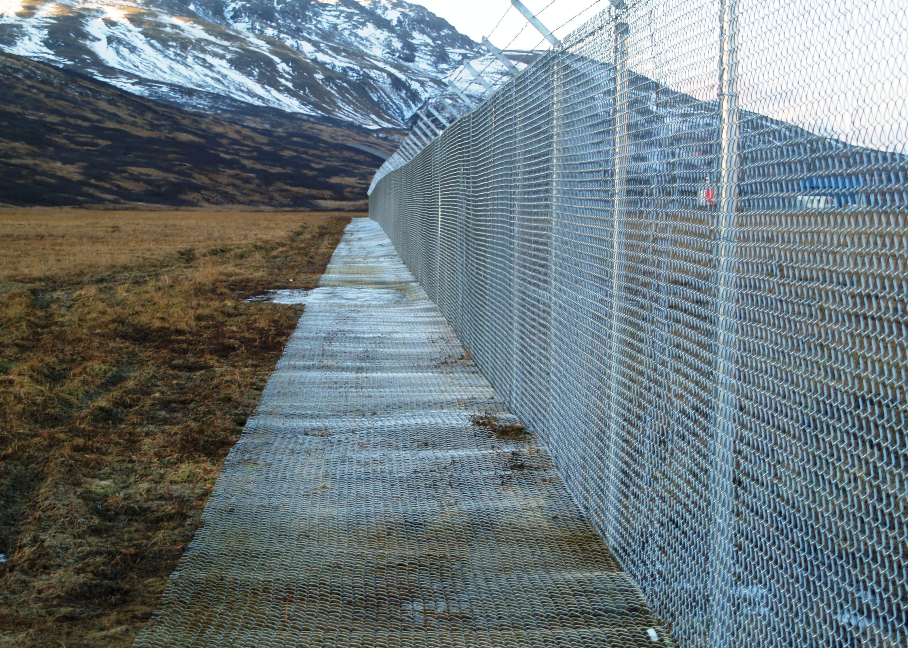 King Cove Airport Fencing Improvements Aaa Fence Inc