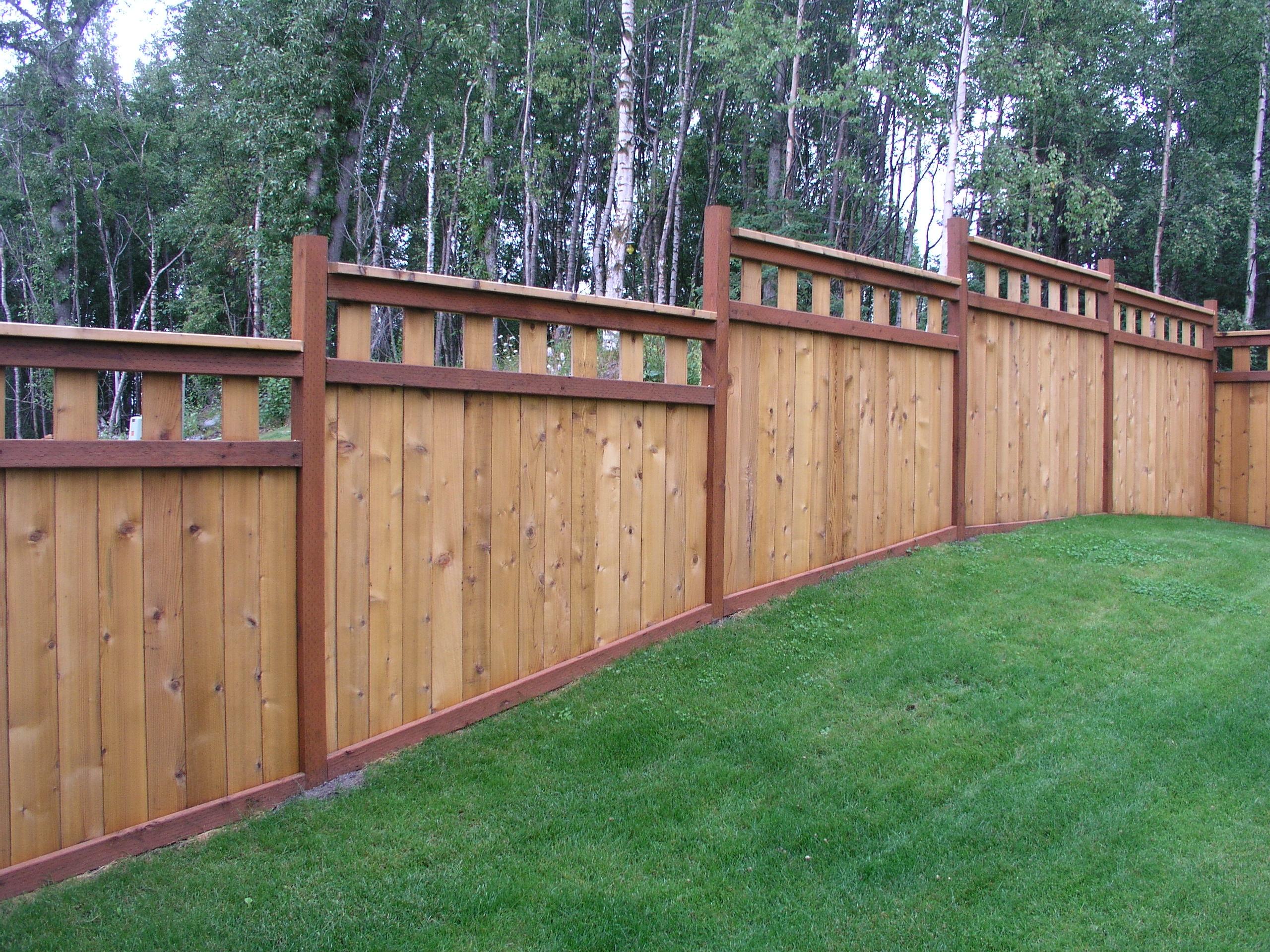 Cedar Board Fence Aaa Fence Inc